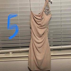Dresses & Skirts - Nude Banquet Dress